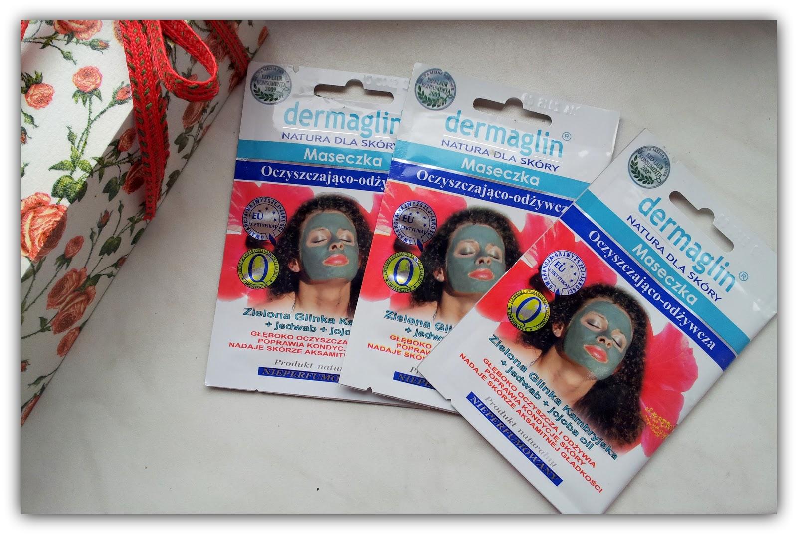 Podsumowanie testów maseczki odżywiająco- oczyszczającej firmy Dermaglin