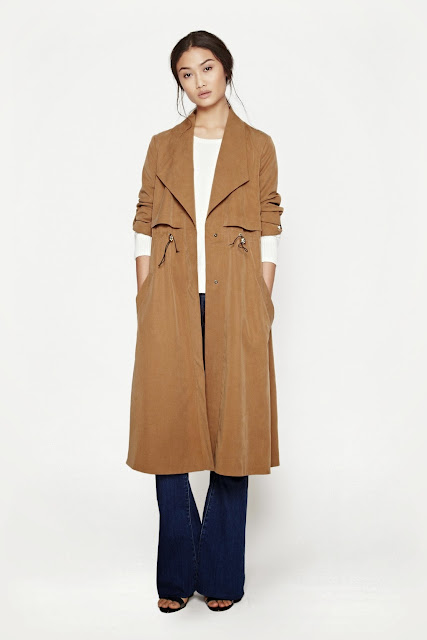 french connection trenchcoat,