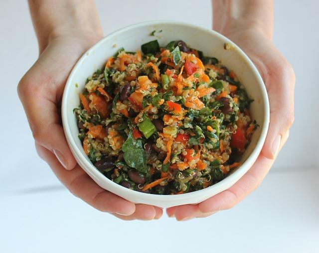 Kale Salad, Quinoa Salad, Black Bean Salad, Summer Salads, Kale, Quinoa, Black Beans, Healthy Salads, Salad Super Food, Healthy Salad Recipe