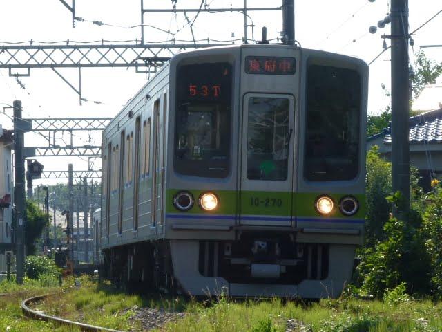 京王電鉄 各停 東府中行き4 都営10-000形270F(土日運行)
