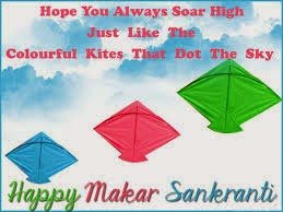 Makar Sankranti Colorful kiets that dot th sky wallpapers download