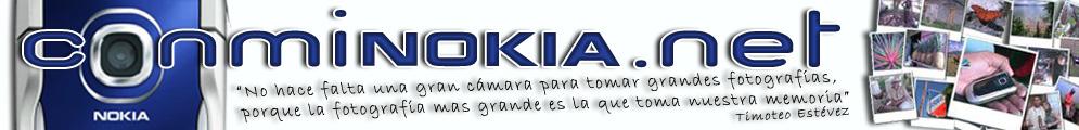 Con mi Nokia en la mano.