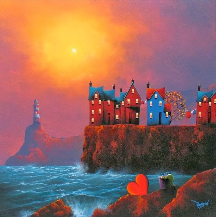 Cool acrylic paintings paintings by david renshaw