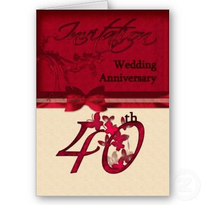 Undangan Ulang Tahun Perkawinan
