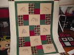QFC Mo Boy's Home Horse Quilt #1 - 2013