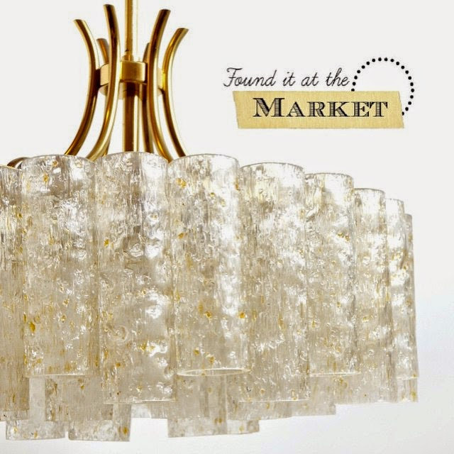 #thriftscorethursday Week 61 | Instagram user: maggieoverbystudios shows off this MidCentury Doria Chandelier