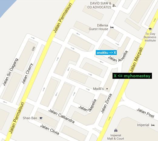 MyHomeStay Miri MyHomeStay Miri location map