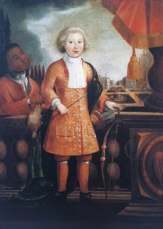 1710 Justus Engelhardt Kuhn (Colonial American artist, fl 1707 1717