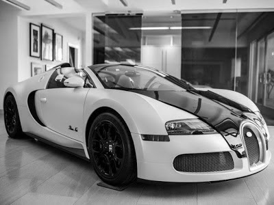 Bugatti Veyron 16.4 Grand Sport Blanc Noir