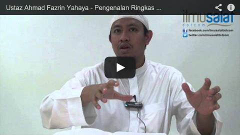 Ustaz Ahmad Fazrin Yahaya – Pengenalan Ringkas Kitab Al-Adab Al-Mufrad