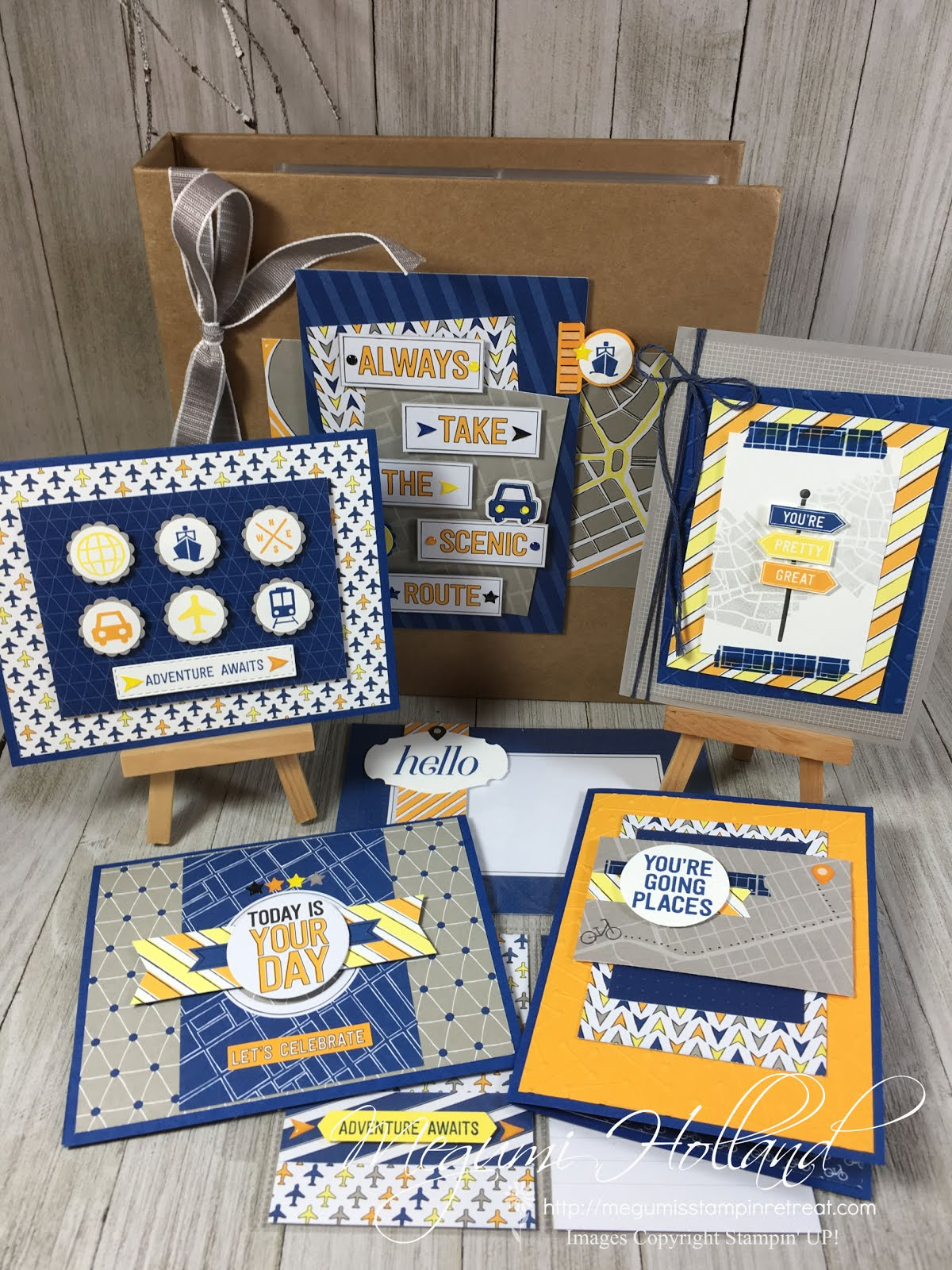 Best Route Scrapbook & Card Class 5/16/19