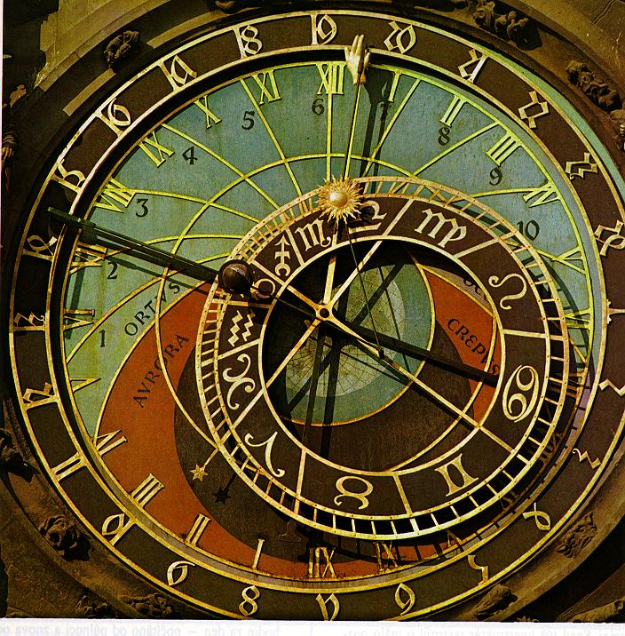 A Unique Geocentric Clock (Orloj) of Prague, Czech Republic