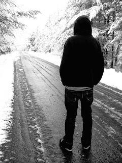 sad boy alone in love