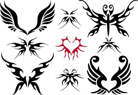macam macam tato sayap