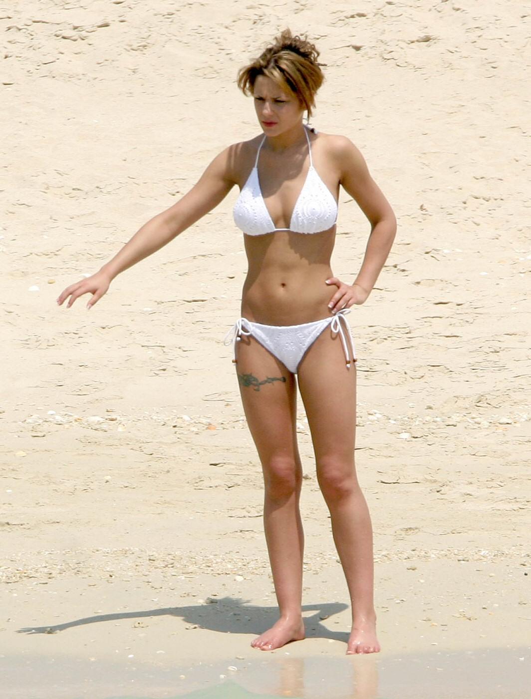 cheryl cole in a bikini