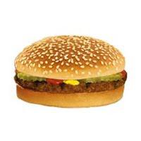 Regular hamburger as advertized