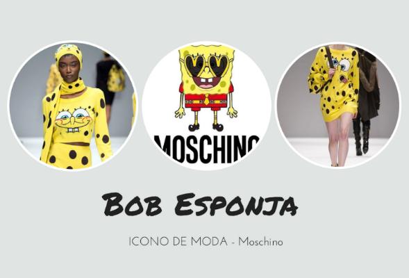 Bob Esponja by Moschino