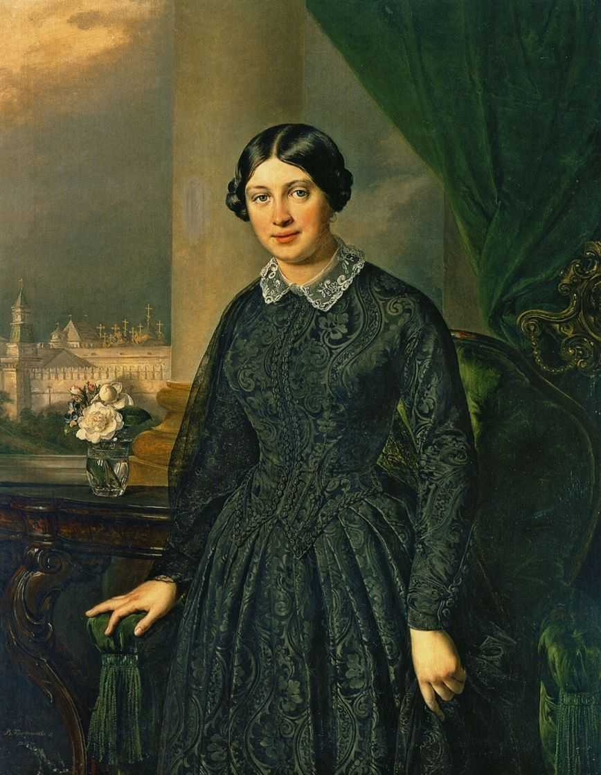 Portrait of levitskaya volkonskaya 1852