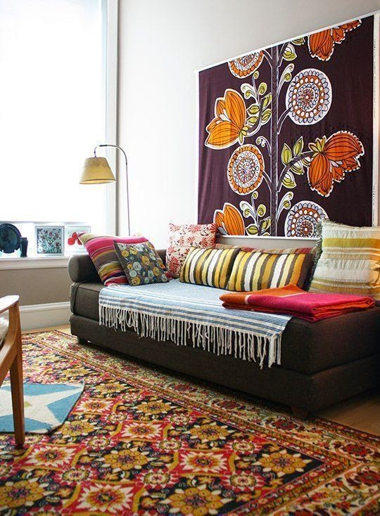 The Lovely Side 10 Renter Friendly Ways To Add Color