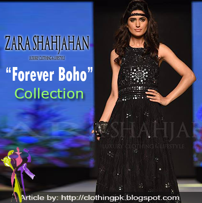 "Zara Shahjahan ""Forever Boho"" Pret Collection TFPW 2015"