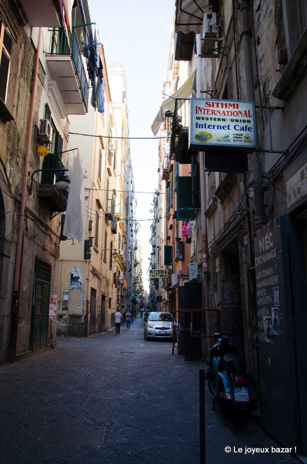 Naples - quartier espagnol