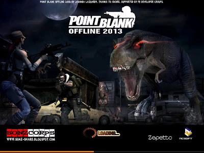 Download Free Game PC Point Blank Offline Full Version Terbaru 2014
