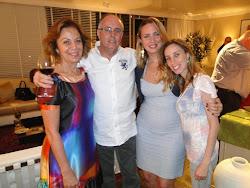 Wagner Sandoval Barbosa e família