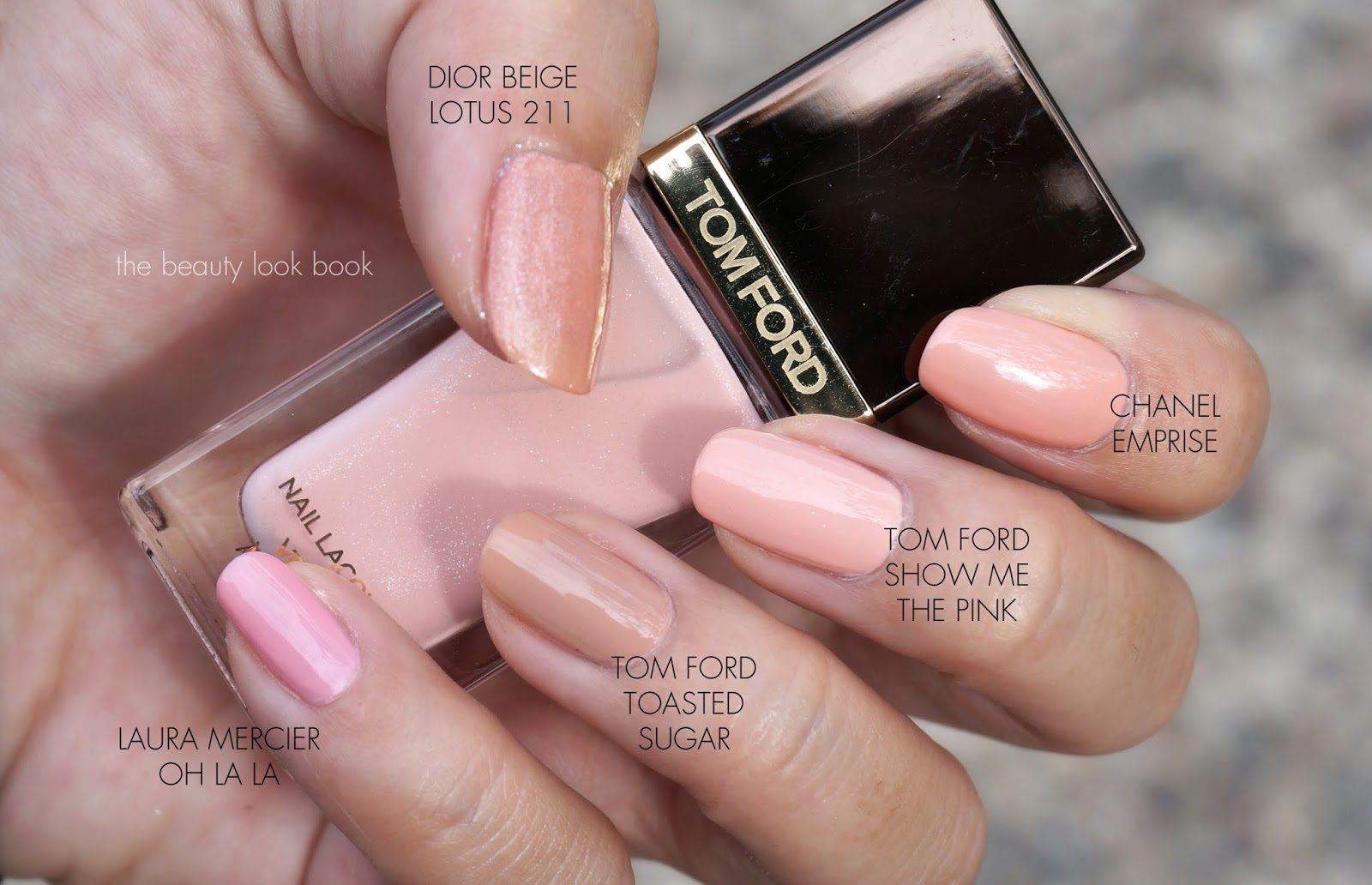 Tom Ford Show Me the Pink Nail Lacquer - Fall 2013 | The Beauty Look ...
