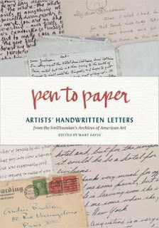 http://www.amazon.com/Pen-Paper-Handwritten-Smithsonians-Archives/dp/1616894628/ref=sr_1_24?s=books&ie=UTF8&qid=1454534891&sr=1-24&keywords=art+journals