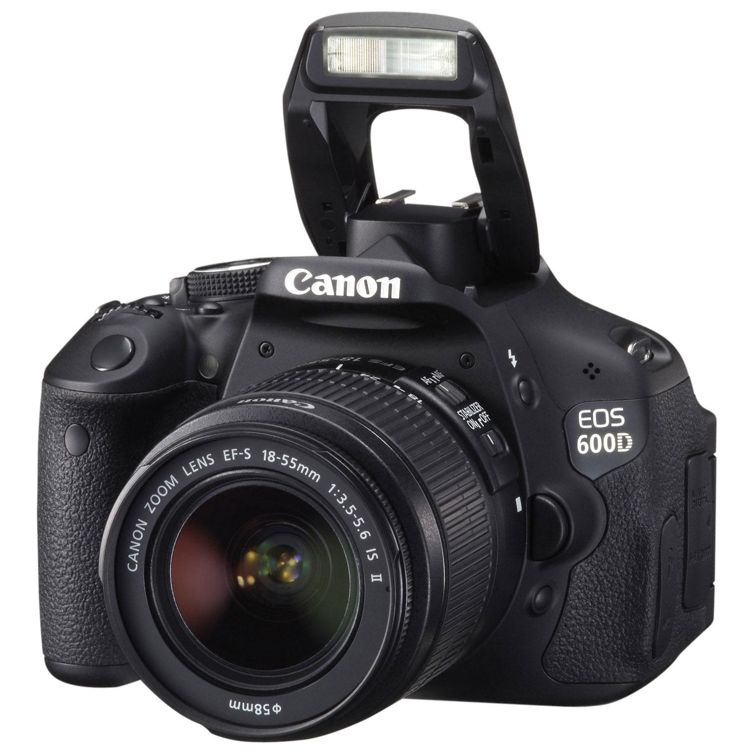 yang menarik dari EOS 600D, kamera ini layarnya bisa diputar 360 ...
