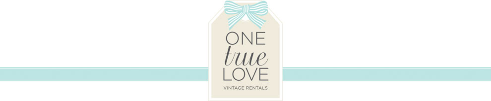 one true love vintage rentals