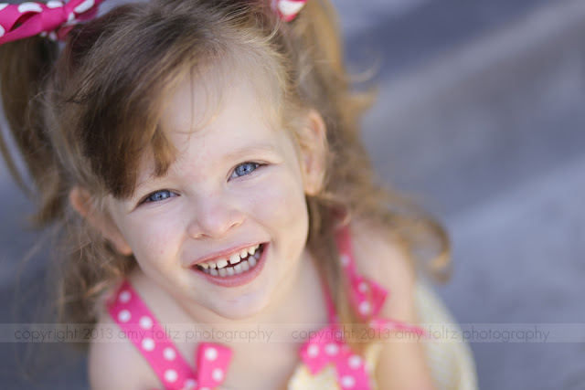 photo of a little girl smiling