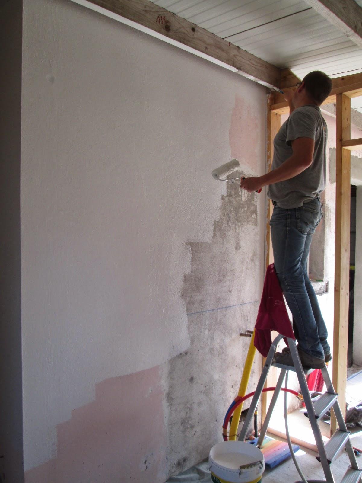 L 39 atelier prend forme antoine emilie st nazaire - Osb peint en blanc ...