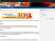 Anime Templates for Blogger: Mcanime