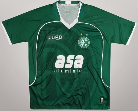 Lupo lança as novas camisas do Guarani - Show de Camisas 68bca70d5fdf3