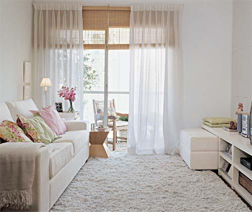 Sala De Tv Pequena Ideias ~ Quando se tem um janelão fica fácil fazer o espaço crescer porque