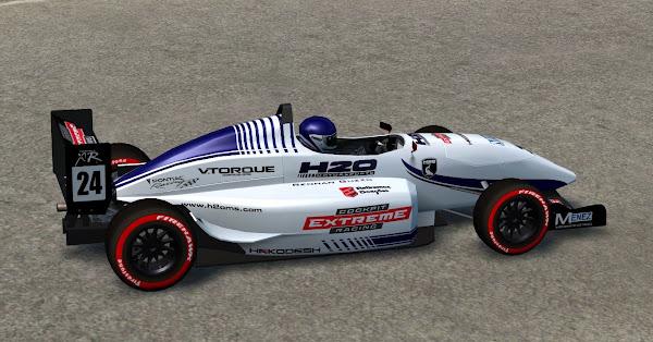 Pintura da 1ª equipe da H2O para o Fórmula XR é apresentado Lfs_00000514
