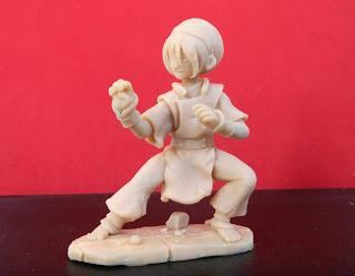 orme magiche toph last airbender manga action figures modellini personalizzati cartoni