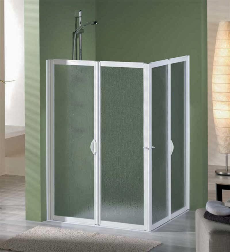 Carpinter a de aluminio sevilla aluminio tres mamparas - Mampara ducha plegable ...