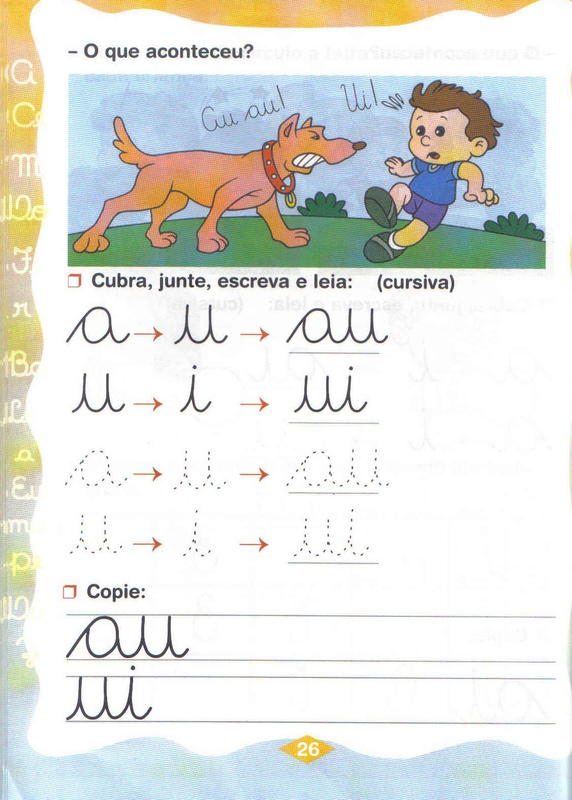 encontros vocálicos exercícios