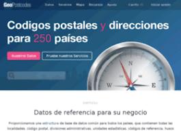 Codigos postales y direcciones para 250 países