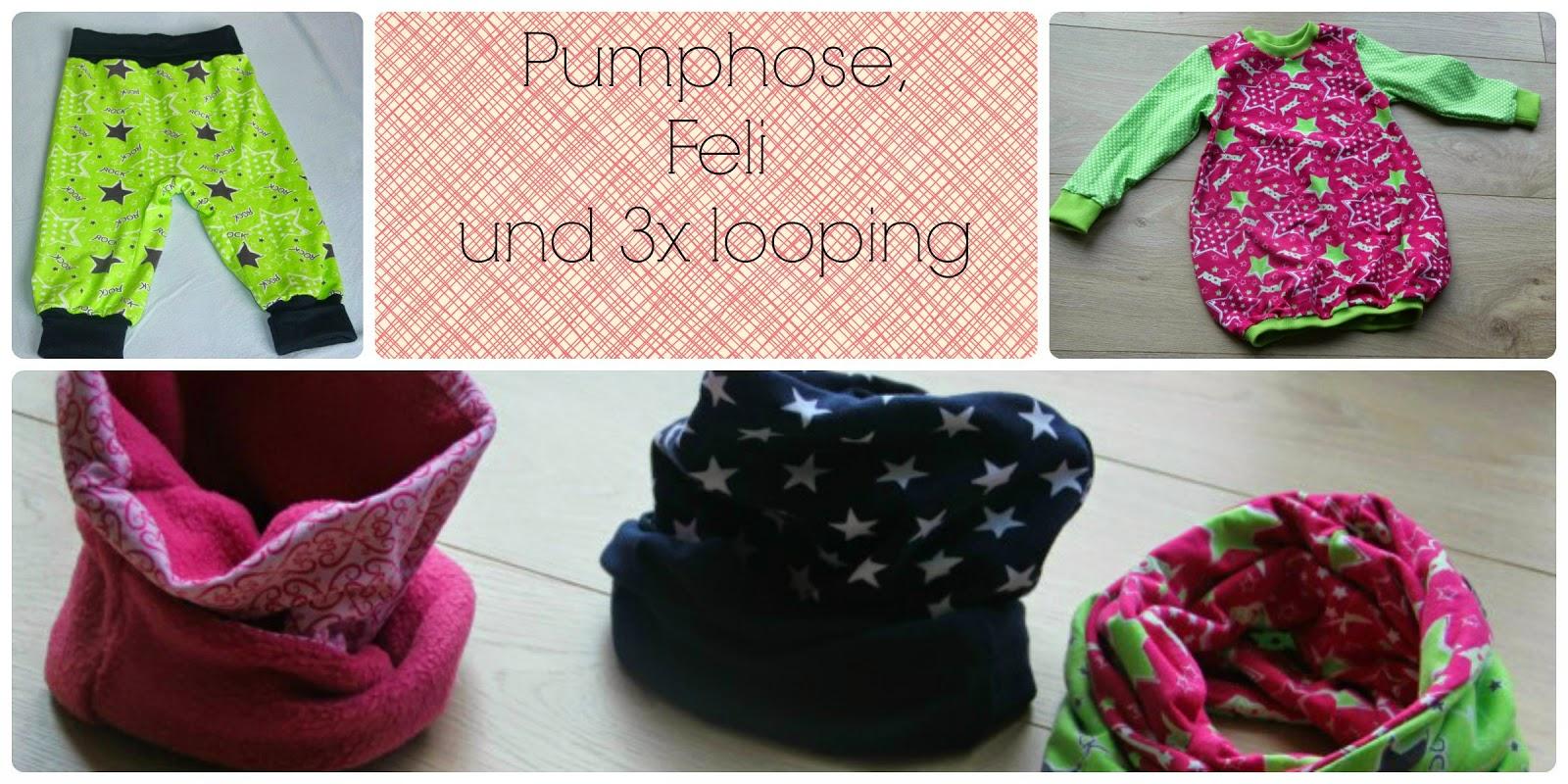Knutselzwerg: Feli, Pumphose, Loop