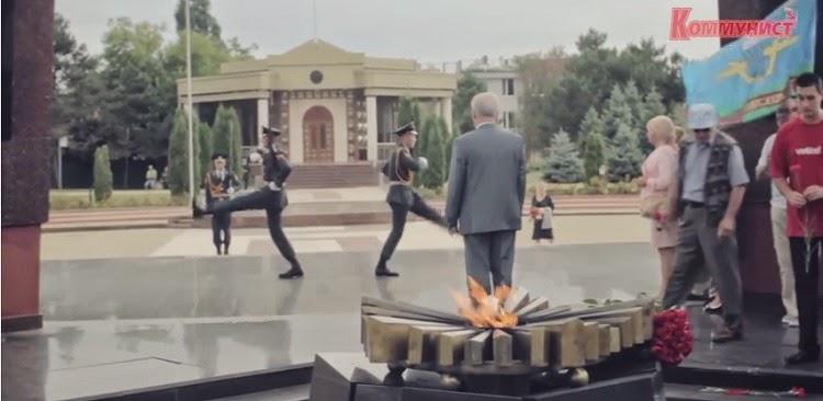70 лет освобождения Молдавии на мемориальном комплексе Вечность