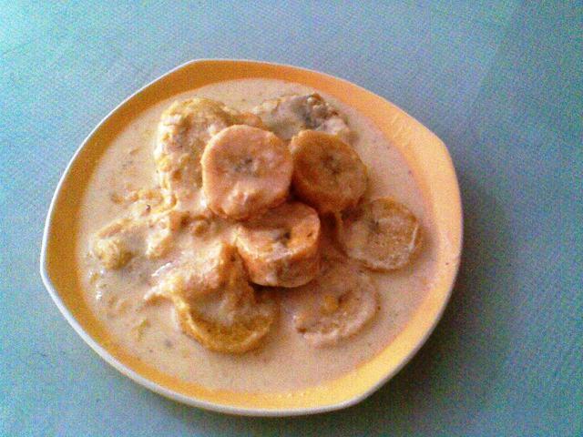 Recetas de Maduritos con Crema de Leche - Cocina Colombiana