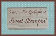 SPOTLIGHT WINNER AT SWEET STAMPIN CHALENGE
