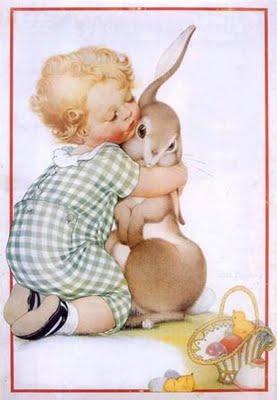 Imagens Vintage Páscoa para decoupage