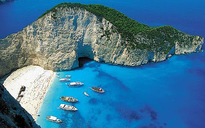 Navagio Beach Or Shipwreck