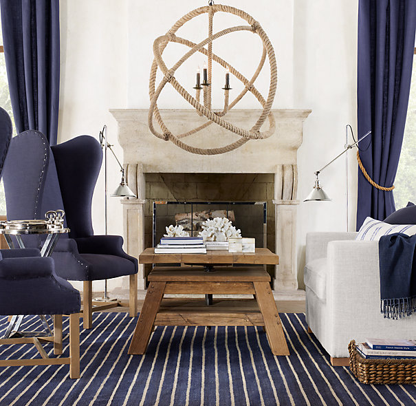 Nautical Rope Lighting Fixtures Driven By Decor