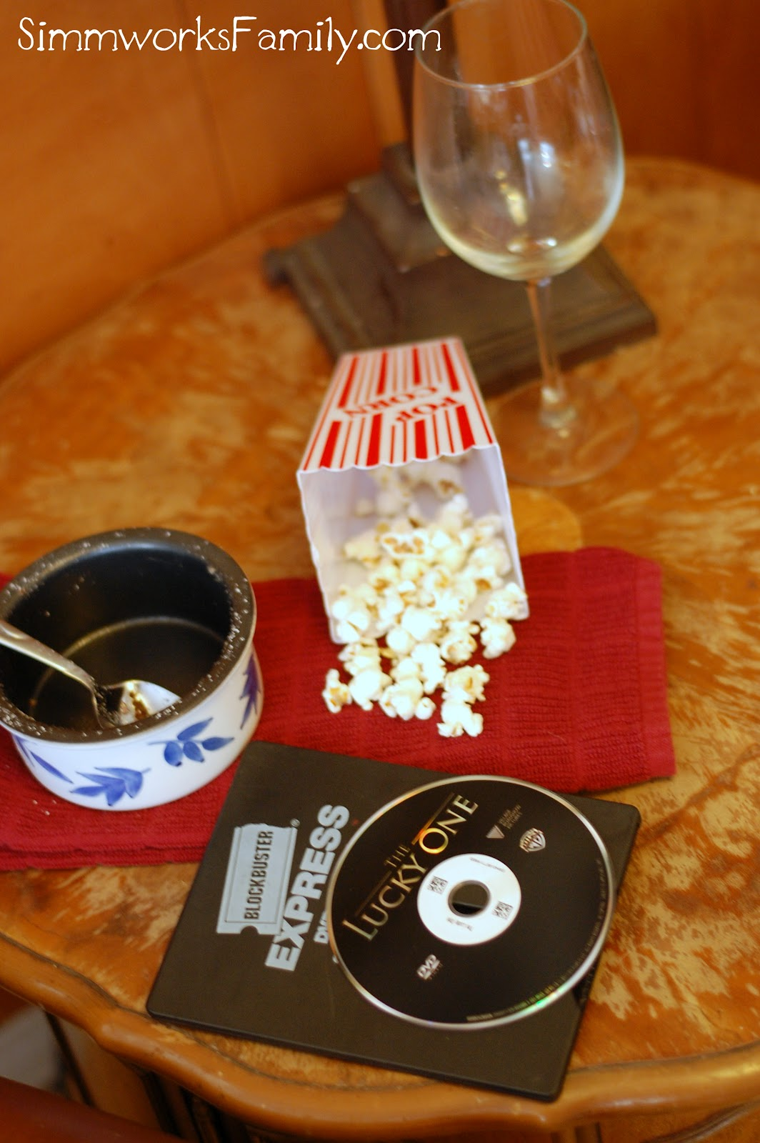 Date Night on a Budget Movie at Home