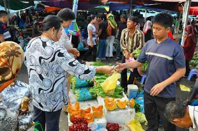 gambar pasar Brunei